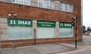 The SHAX Shop at 4 Nith Street, Dumfries